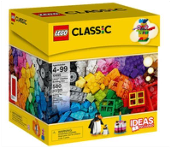 LEGO Classic Creative Building Box 580pcs 10695 LEGO konstruktors