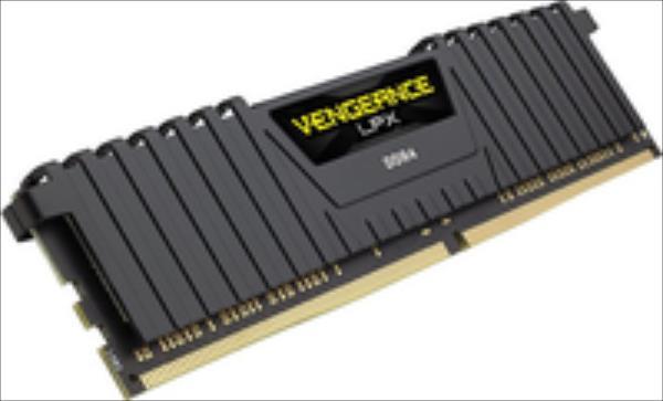 DDR4  4GB PC 2400 CL16 CORSAIR Vengeance LPX Black retail operatīvā atmiņa
