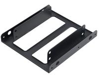 Dual 2.5 SSD/HDD adapter to fit into 3.5 PC bay piederumi cietajiem diskiem HDD