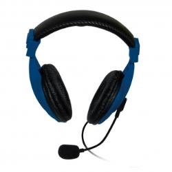 VAKOSS Stereo headset with microphone headphones Volume Control SK-601KB blue austiņas