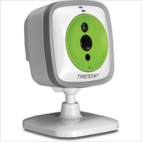 TRENDNET Indoor WiFi N Day/Night Baby Camera Speaker TV-IP743SIC IP novērošanas kamera