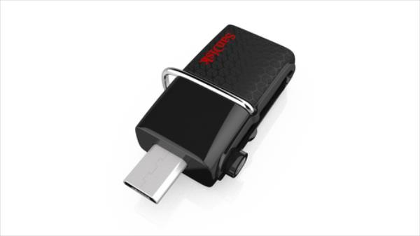 Sandisk Flashdrive Ultra DUAL 128GB USB 3.0, Read: up to 130MB/s (for Android) USB Flash atmiņa