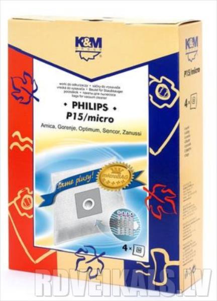 K&M P15 PHILIPS GENEVA aksesuārs putekļsūcējam