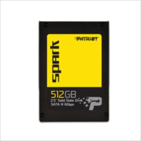 Patriot SSD Spark 512GB SATAIII Read:Write 560/540MB/s SSD disks