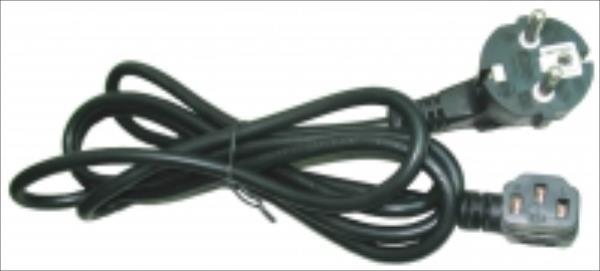 Gembird power cord 90 degree angled output plug 6ft Barošanas kabelis