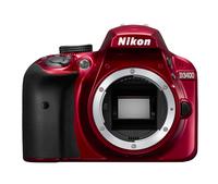 Nikon D3400 Red EU Nikon D3400 Red, TTL, TFT, CMOS, ISO sensitivity (max) 25600, SLR Camera Body, Image sensor size (W x H) 23.5 x 15.6 mm, Spoguļkamera SLR
