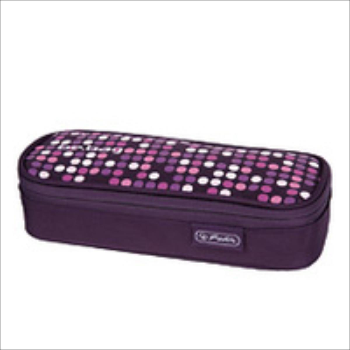 Herlitz Soft Case be.bag cube Spotlight Skolas somas un penāļi