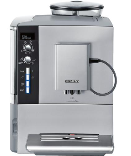 SIEMENS TE515201RW Pump pressure 15 bar, Coffee maker type Full automatic, 1600 W, Silver Kafijas automāts