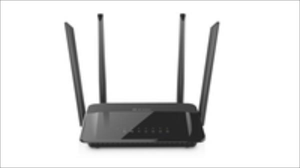 D-Link DIR-822 Wireless AC1200 Dual Band Router Ethernet LAN (RJ-45) ports 5, Antenna type External, Antennas quantity 4 WiFi Rūteris