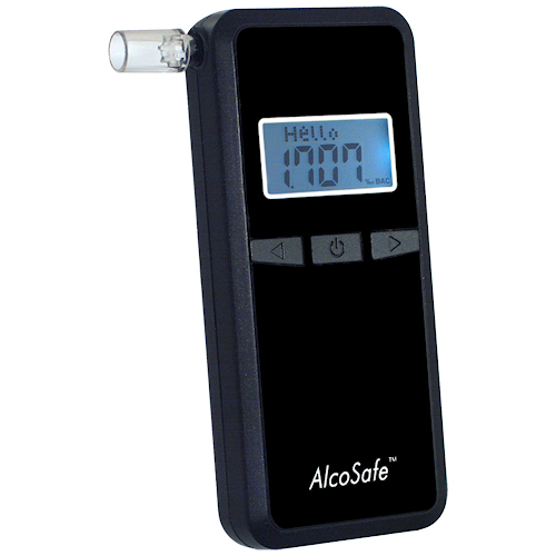 Alkomat AlcoSafe S4 Black Alkometrs
