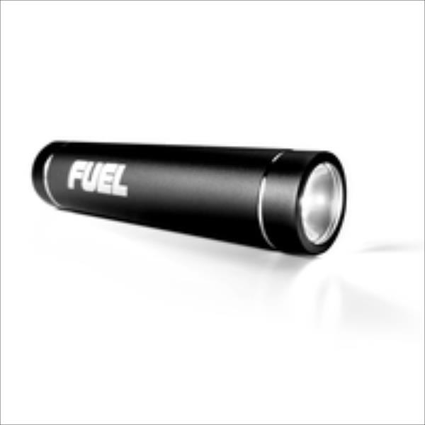 Patriot FUEL ACTIVE 2600 mAH LED FLASHLIGHT - BLACK Powerbank, mobilā uzlādes iekārta