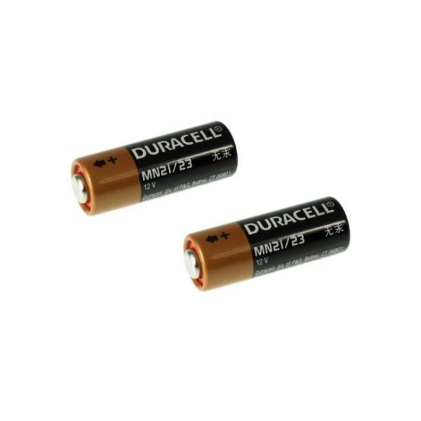 Duracell MN21 12V Alkaline Ilgstošas darbības baterejas (A23 / V23GA / 3LR50) (2gab.) Baterija