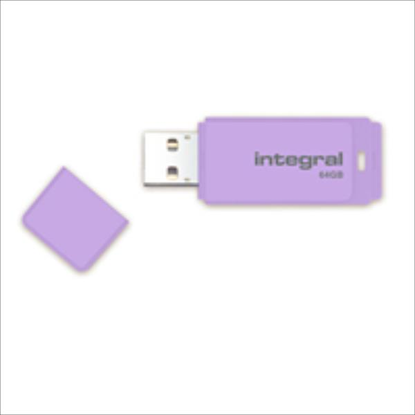 Integral Pastel 64GB, Lavender Haze USB Flash atmiņa