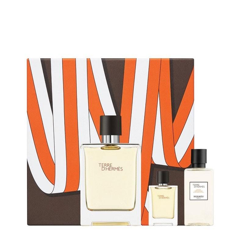 Hermes Terre D Hermes Edt 100 ml + Edt 5 ml + Aftershave water 40 ml 100ml Vīriešu Smaržas