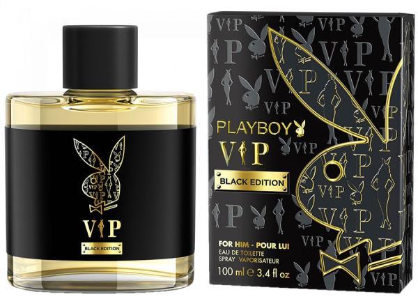 Playboy VIP Black Edition 100ml Vīriešu Smaržas