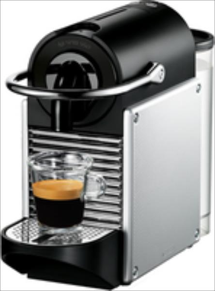 DeLonghi Pixie EN 125.S Nespresso Electric Aluminium Kafijas automāts
