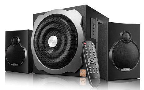 Fenda A521X Bluetooth 4.0 (2.1 Channel Surround, 16Wx2+20W (RMS), 120Hz-20kHz, Subwoofer: 20Hz-120Hz, USB reader datoru skaļruņi