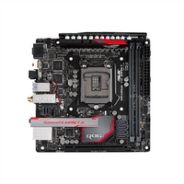 MAXIMUS VIII IMPACT 2DD R4 WI-FI/RAID/USB3.1 mI pamatplate, mātesplate