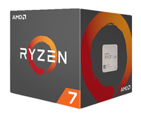 AMD Ryzen 7 1700, with Wraith Spire 95W cooler, AM4, 20MB Cache, 3700MHz CPU, procesors