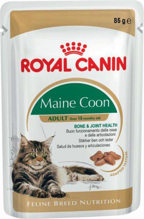 Royal Canin Maine coon adult 12x85g kaķu barība