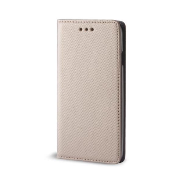 GreenGo LG Magna/G4c Smart Magnet gold maciņš, apvalks