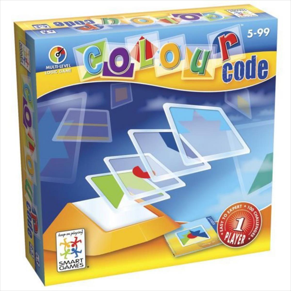 SMART GAMES Colour Code SG090 galda spēle