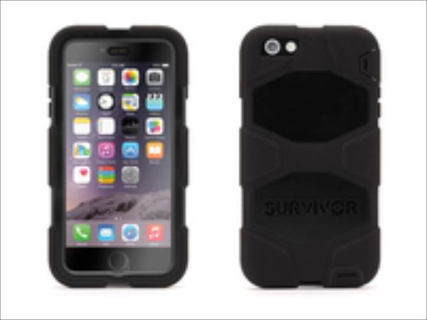 Griffin  Survivor All Ter iPhone 6 Plus Black aksesuārs mobilajiem telefoniem