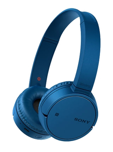 Sony MDR-ZX220BT Bluetooth, Connection type Wireless, Blue austiņas
