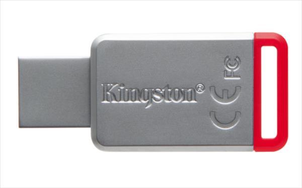 Kingston 32GB USB 3.0 DataTraveler 50 (Metal/Red) USB Flash atmiņa