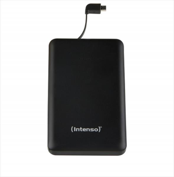 Intenso S10000 10000mAh, Black Powerbank, mobilā uzlādes iekārta