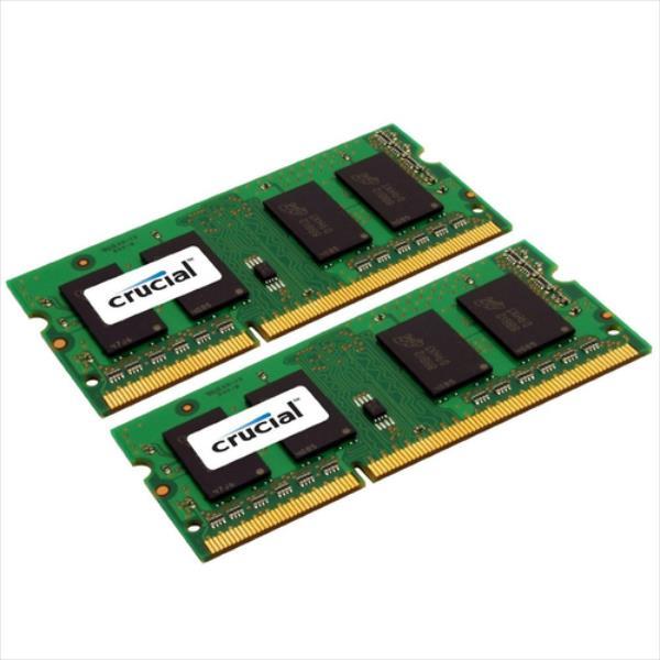 CRUCIAL DDR3 8GB/1600(2 4GB) CL11 SODIMM APPLE operatīvā atmiņa