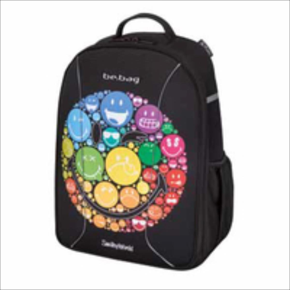 Herlitz 11437951 Smiley World Rainbow Skolas somas un penāļi