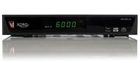 Xoro HRS 9190 LAN, Twin DVB-S2 HD Receiver, schwarz uztvērējs