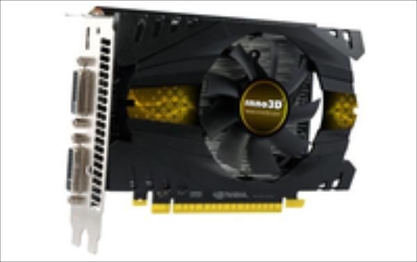 Inno3D GeForce GTX 750 Ti, 2GB GDDR5 (128 Bit), HDMI, 2xDVI video karte