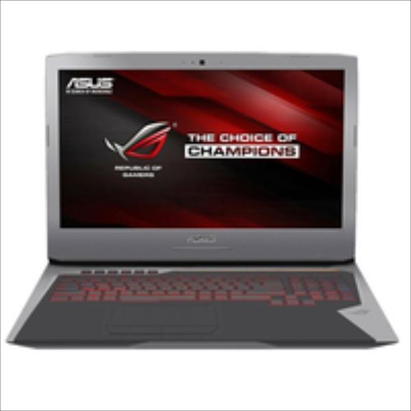 ASUS ROG G752VM-GC034D Gaming Notebook 17.3 Zoll Full HD i7-6700HQ 8GB 1TB HDD GTX 1060 - ohne Windows Portatīvais dators