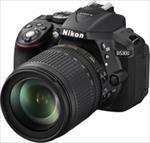 Nikon D5300 24.2Mpix 18-105 VR Black Spoguļkamera SLR