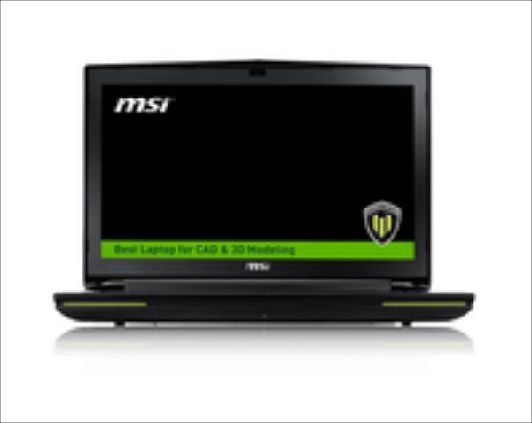 MSI WT72-2OL16SR21BW 17,3 i74980HQ/16GB/1TB/K3100M/W10P Portatīvais dators