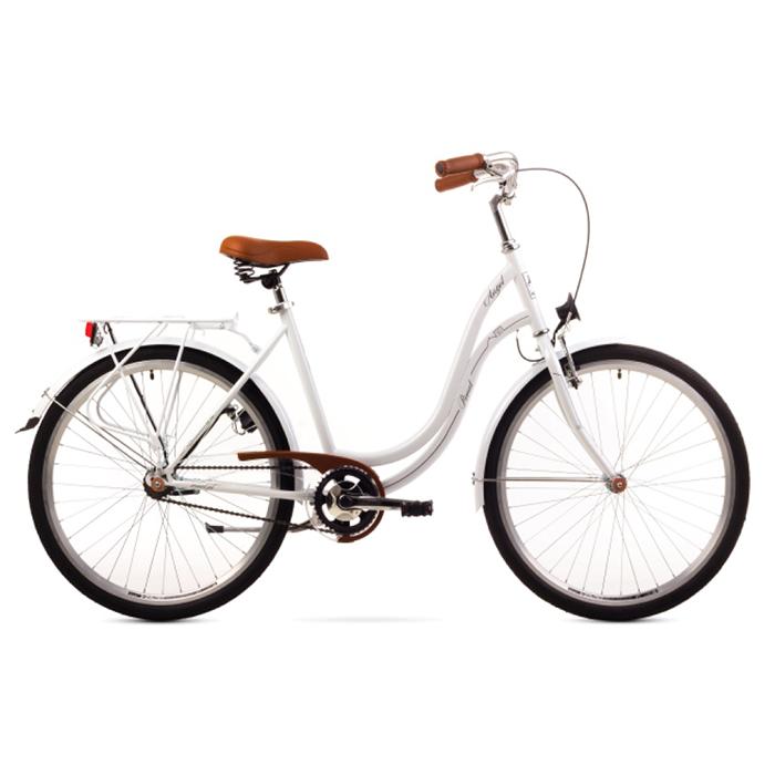 ROMET ANGEL 28 - 3 CITY 19-L R28 BALTS Pilsētas velosipēds