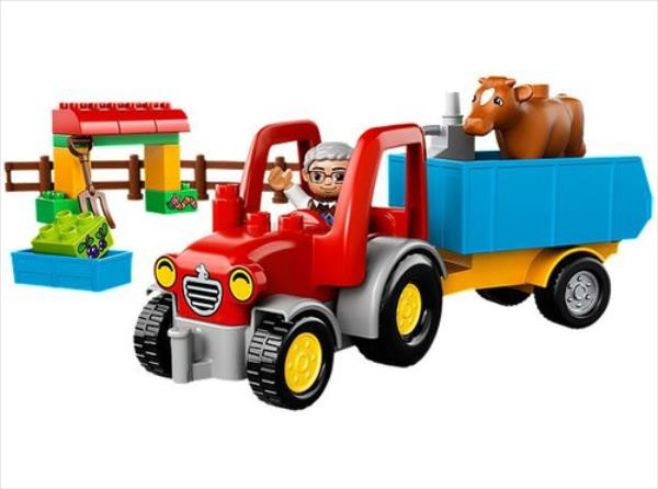 LEGO Farm Tractor V29 10524 LEGO konstruktors
