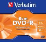 Verbatim mini DVD-R 1.4GB 4X AZO MATT SILVER SCRATCHGUARD je matricas