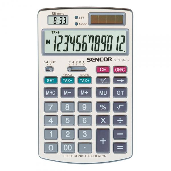 Calculator SENCOR 12 digits - SEC 387/12 kalkulators