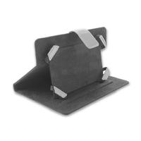 Qoltec Tablet Case High Effective Protection for Tablet 7'', black+silver soma foto, video aksesuāriem