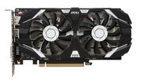 MSI NVIDIA GeForce GTX 1050 2048MB GDDR5 128b PCI-E x16 v. 3.0 (1404MHz/7000MHz) OC Edition video karte