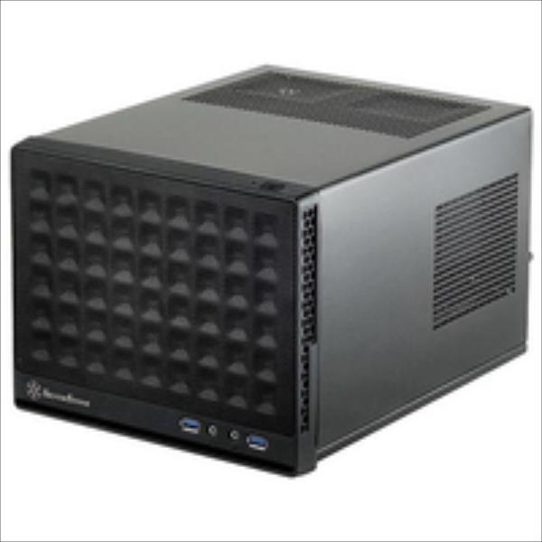 SilverStone Sugo 13  mini-ITX  USB 3.0 x2, Mic x1, Spk x1, black, Mini-Tower Datora korpuss