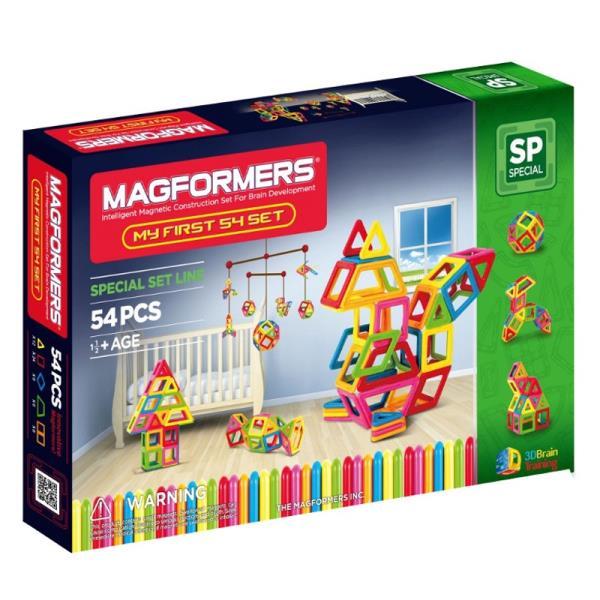 MAGFORMERS My First Magformers 54 konstruktors