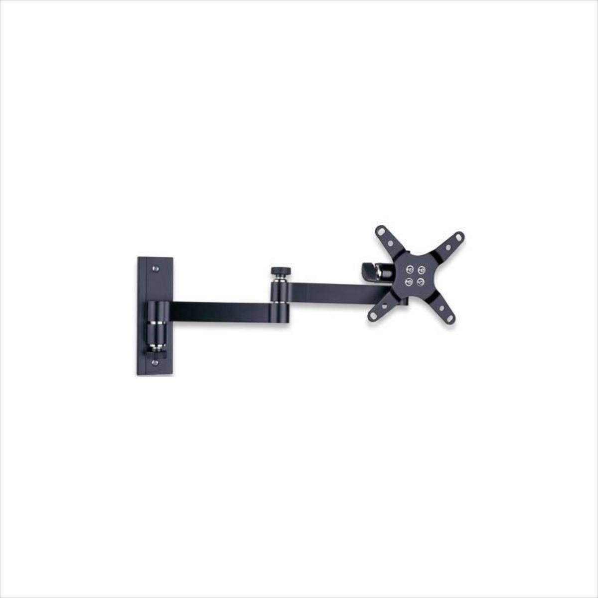Techly Wall mount for TV LCD/LED/PDP double arm 13-30'' 15 kg VESA black TV stiprinājums