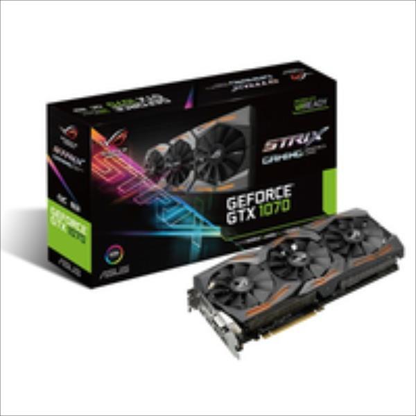 ASUS GeForce GTX 1070, 8GB GDDR5 (256 Bit), 2xHDMI, DVI, 2xDP video karte
