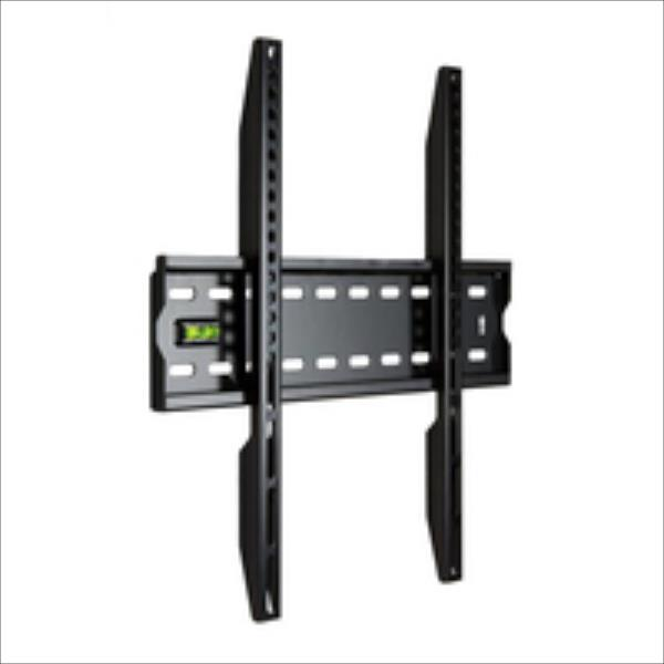 4World Wall Mount for LCD/PDP 20''- 50'', SLIM, max load 50kg BLK TV aksesuāri