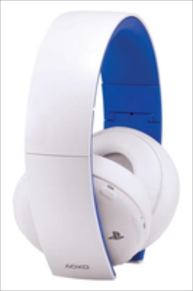 SONY PS4/PS3/PSV Wireless Stereo Headset 2.0 White austiņas