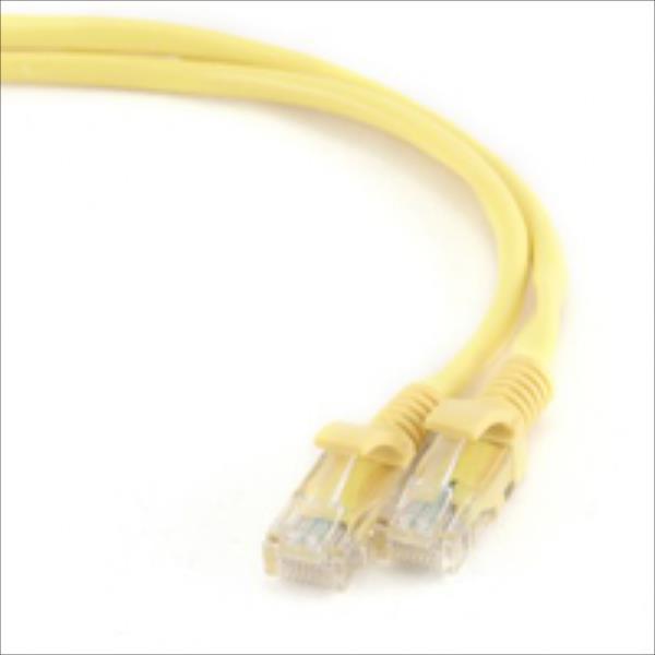 Gembird patchcord RJ45, cat.5e, UTP, 3m, yellow tīkla kabelis